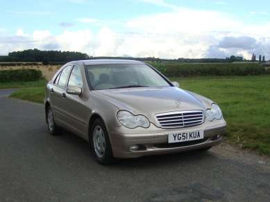 2001 MERCEDES BENZ C200 KOMPRESSOR ONLY 54K