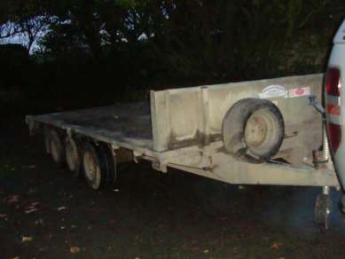GRAHAM EDWARDS FLAT BED TRAILER
