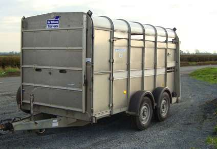 USED IFOR WILLAIMS 12FT CATTLE TRAILER