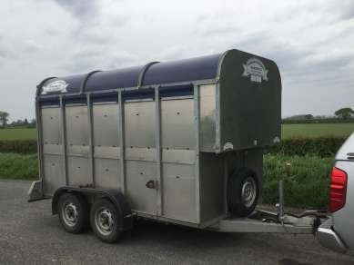 GRAHAM EDWARDS 10 X 5 CATTLE TRAILER