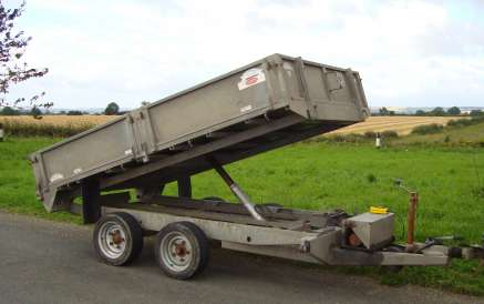 GRAHAM EDWARDS 10ft TIPPING TRAILER