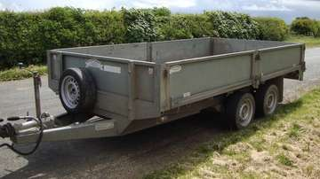 GRAHAM EDWARDS 12ft FLAT BED TRAILER