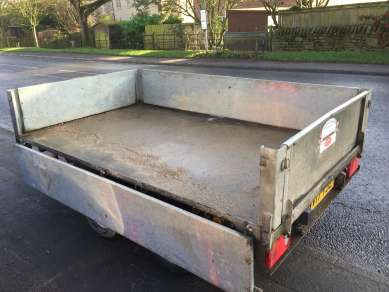 GRAHAM EDWARDS 8ft FLAT BED TRAILER