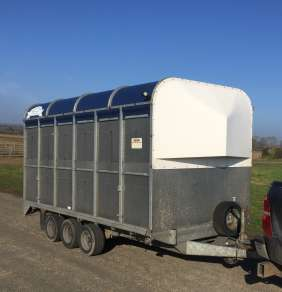 GRAHAM EDWARDS DM12T CATTLE TRAILER