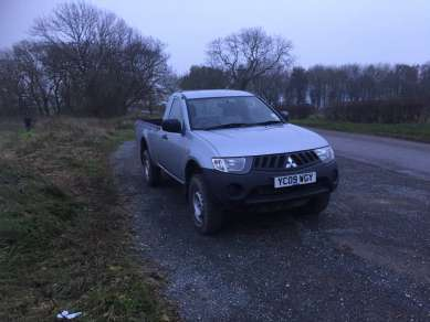 MITSUBISHI L200 2.5 DID SINGLE CAB PICKUP