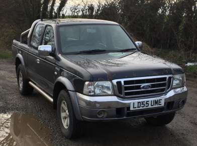 FORD RANGER 2.5 XLT SPACECAB PICKUP