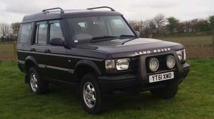 LANDROVER DISCOVERY TD5 S AUTO 7 SEATS