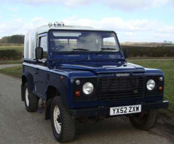 LAND ROVER 90 Td5 TRUCKCAB