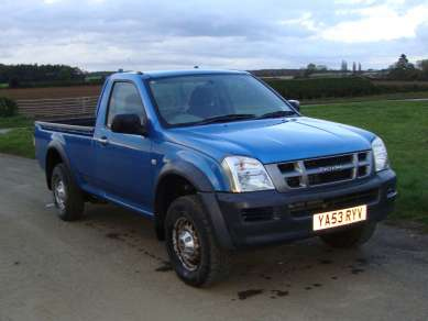 ISUZU RODEO 3.0 T/D SINGLE CAB PICKUP