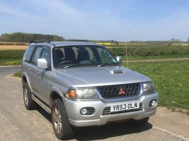 MITSUBISHI SHOGUN SPORT 2.5 TD WARRIOR 5 DOOR