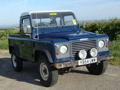 LAND ROVER 90 2.5 Td5 TRUCK CAB PICKUP