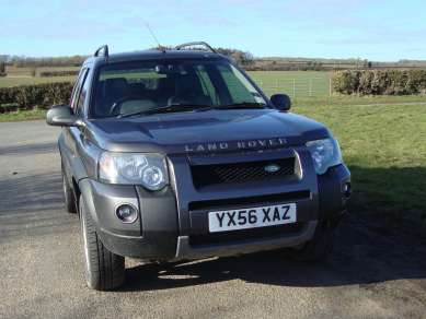 LAND ROVER FREELANDER Td4 HSE 5 DOOR