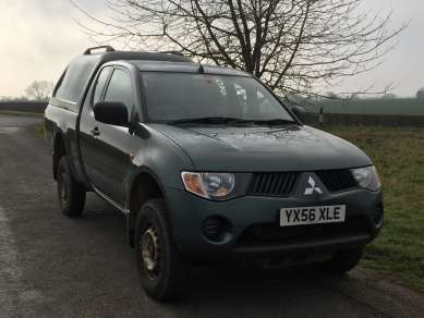 MITSUBISHI L200 2.5 DiD 4 WORK CLUBCAB PICKUP