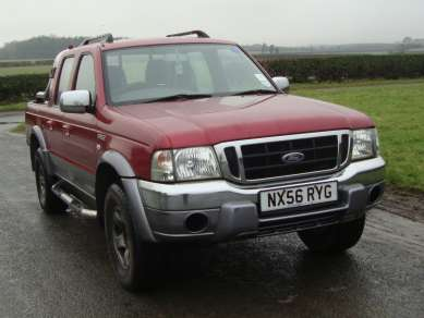 FORD RANGER 2.5 TD WILDTRAK DOUBLECAB PICKUP