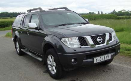 NISSAN NAVARA 2.5DCI OUTLAW D/CAB PICKUP