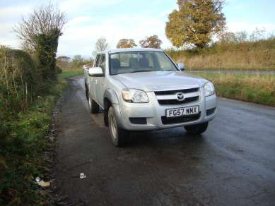 MAZDA BT-50 4X4 DOUBLE CAB PICKUP