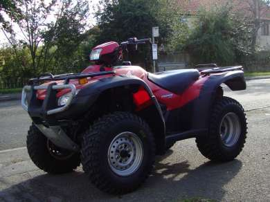 HONDA 500 FE QUAD BIKE