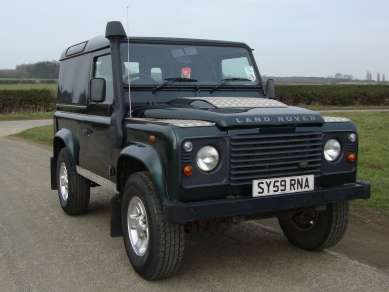 LAND ROVER 90 2.4 Tdci COUNTY HARD TOP