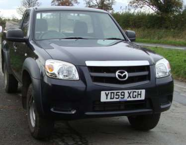 MAZDA BT-50 TS 2.5 T/D SINGLE CAB PICKUP