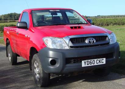 TOYOTA HILUX 2.5 D4D HL2 SINGLE CAB PICKUP
