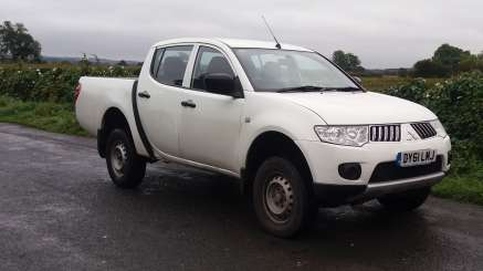 MITSUBISHI L200 2.4 Did 4WORK DOUBLECAB PICKUP