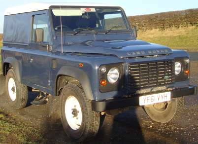 LAND ROVER 90 2.2 Tdci