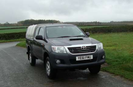 TOYOTA HILUX 2.5 D4D HL2 EXTRACAB PICKUP