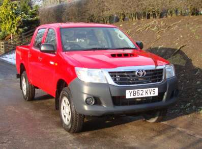 TOYOTA HILUX HL2 DOUBLECAB PICKUP