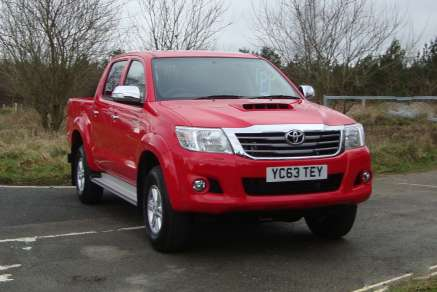 TOYOTA HILUX 2.5D4D ICON DOUBLECAB PICKUP