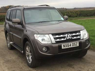 MITSUBISHI SHOGUN 3.2 Did SG3 AUTO 5 DOOR