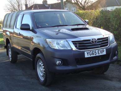 TOYOTA HILUX 2.5 D4D ACTIVE EXTRACAB PICKUP