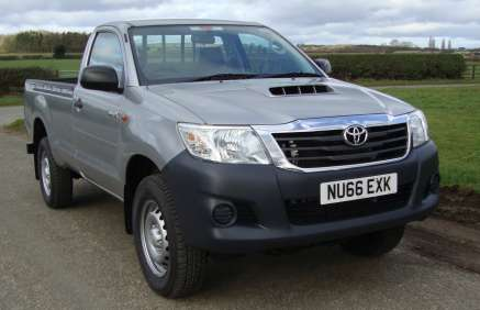 TOYOTA HILUX 2.5 D4d ACTIVE SINGLE CAB PICKUP