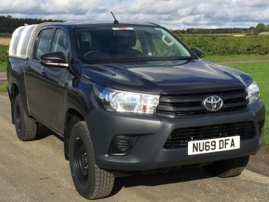 NEW GAMIC CANOPY TO FIT TOYOTA HILUX