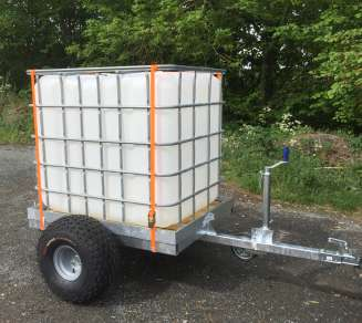 NEW GRAHAM EDWARDS 4ft ATV TRAILER