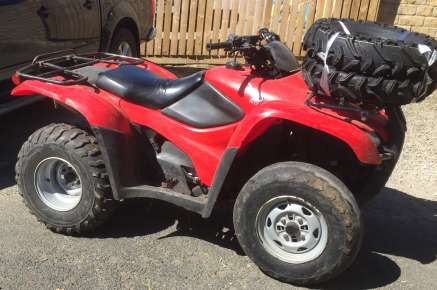 HONDA TRX 420 2WD QUAD BIKE