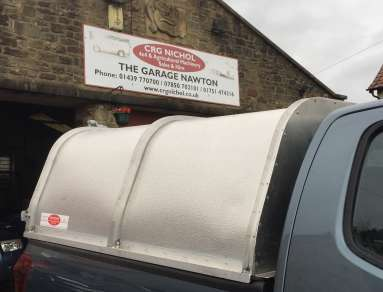 NEW GAMIC ALLOY CANOPY TO FIT ISUZU D MAX