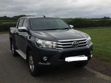 TOYOTA HILUX 2.4D4d ICON DOUBLECAB PICKUP