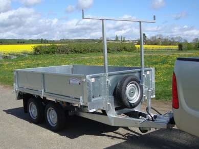 NEW GRAHAM EDWARDS 8ft FLAT BED TRAILER