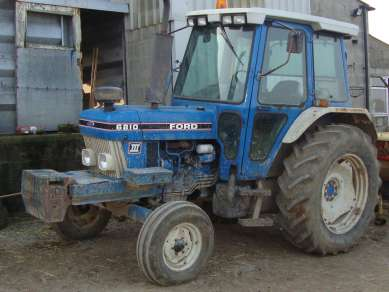 FORD 6810 2WD TRACTOR