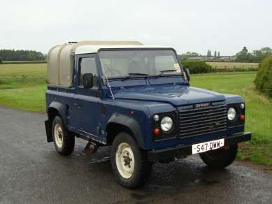 LANDROVER 90 TRUCKCAB