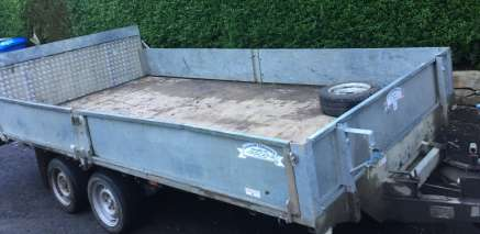 GRAHAM EDWARDS 14ft TILT  TRAILER