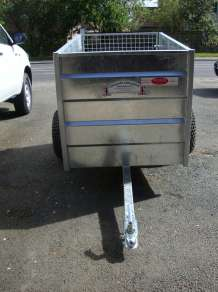 GRAHAM EDWARDS 5FT X 3FT ATV TRAILER