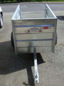 NEW GRAHAM EDWARDS 5FT ATV TRAILER