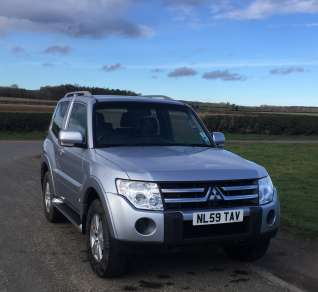 MITSUBISHI SHOGUN 3.2 Did AUTOMATIC 3 DOOR
