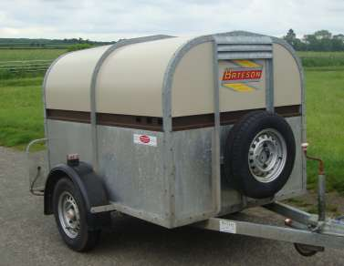 USED BATESON 6ft X 4ft  SHEEP TRAILER