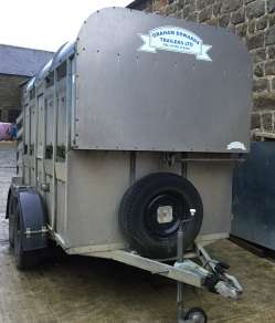 GRAHAM EDWARDS 10ft CATTLE TRAILER