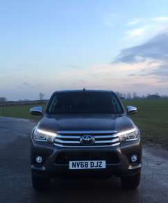 TOYOTA HILUX 2.4 D4d INV DOUBLECAB PICKUP