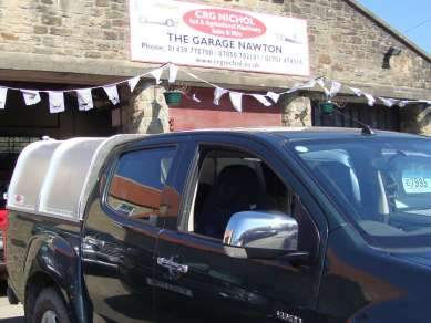 NEW GAMIC ALLOY CANOPY TO ISUZU DMAX
