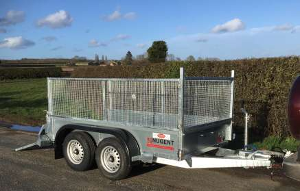 NUGENT 8ft TWIN AXLE GENERAL PURPOSE TRAILER