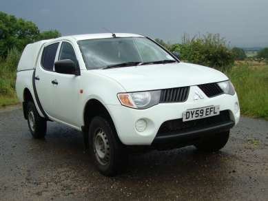 MITSUBISHI L200 2.5 Did 4 WORK D/CAB PICKUP
